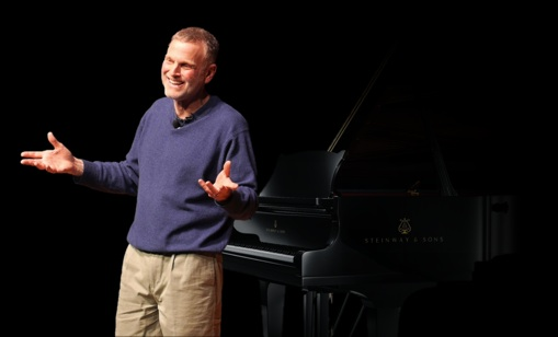 Jonathan Wolff with Steinway Piano
